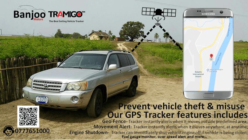 GPS Tracker for Vehicle - BanjooMotors | Buy, Sell or Rent