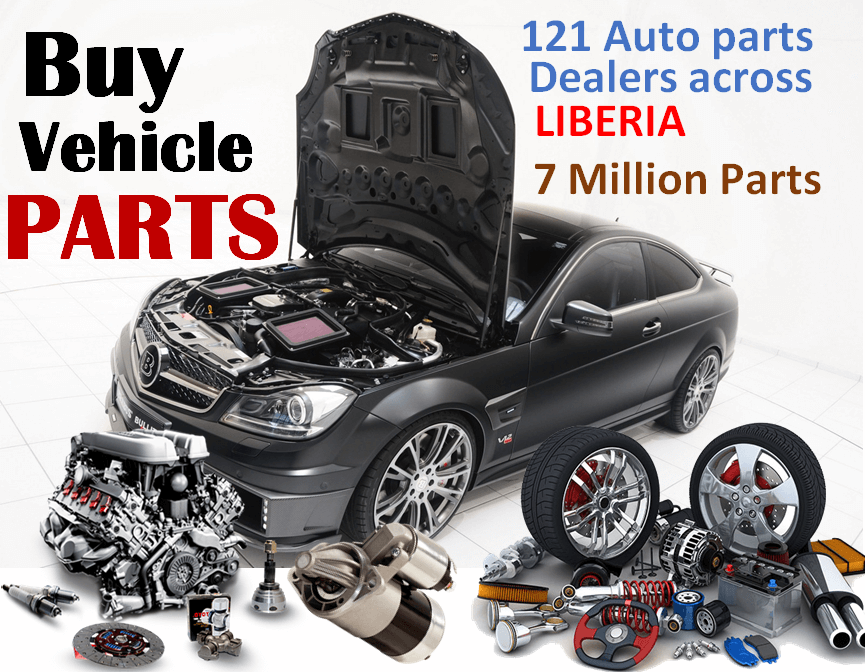 Buy Vehicle Parts in Liberia